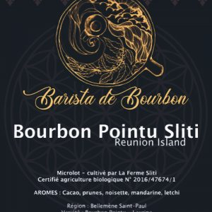 Bourbon Pointu 100g grain - barista de Bourbon